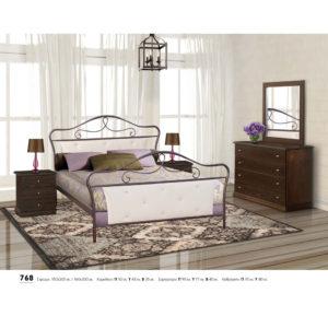 Μεταλλικό κρεββάτι 768