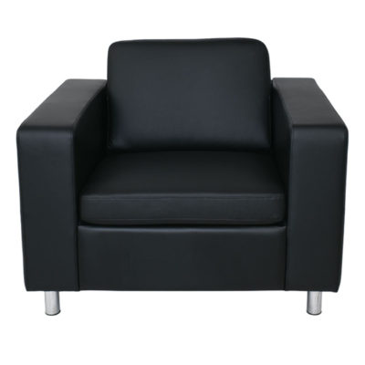 ALAMO πολυθρόνα PU Μαύρο