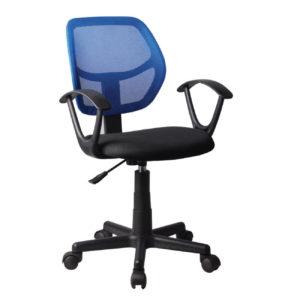 BF2740 πολυθρόνα γραφείου Mesh Μπλε/Μαύρο